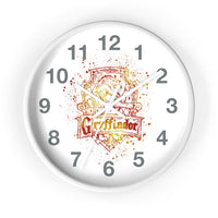 Wall clock Harry Potter Gryffindor