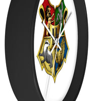 Wall clock Harry Potter 4 Houses