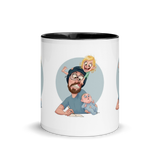Mug with Color Inside Dad & Son