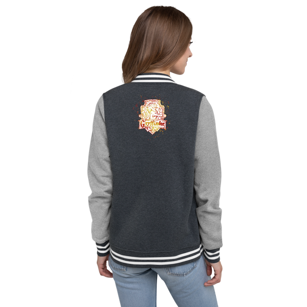 Women's Letterman Jacket Harry Potter Grifondoro