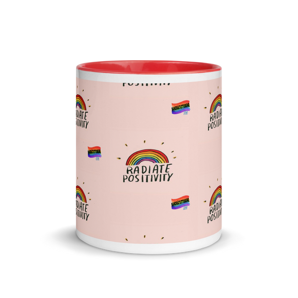 Mug with Color Inside andrà tutto bene