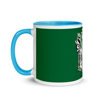 Mug with Color Inside Harry Potter Serpeverde