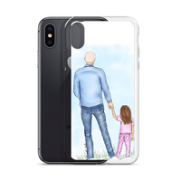 iPhone Case dad & daughter