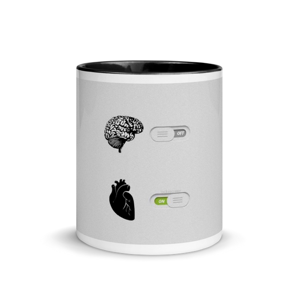 Mug with Color Inside brain