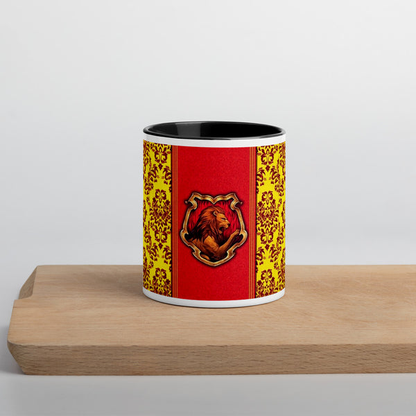 Mug with Color Inside Harry Potter Grifondoro