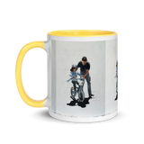 Mug with Color Inside Dad & Daughter