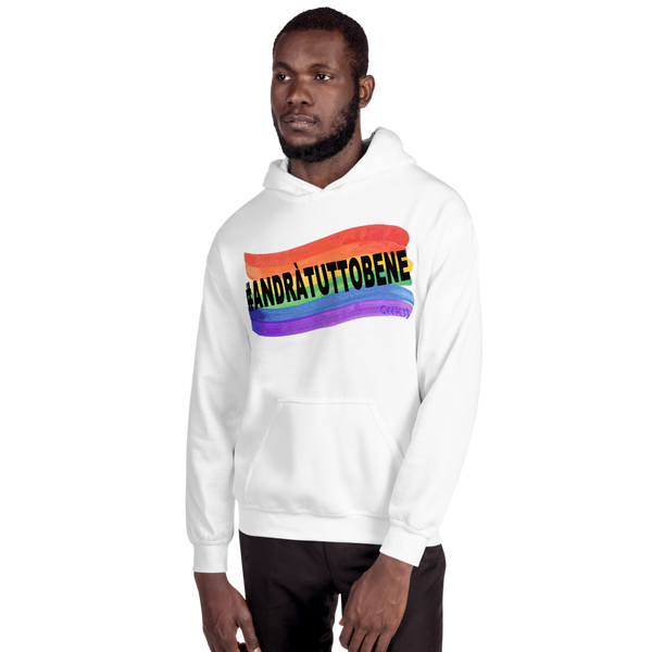 Unisex Hoodie andrà tutto bene