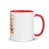 Mug with Color Inside Grifondoro Harry Potter