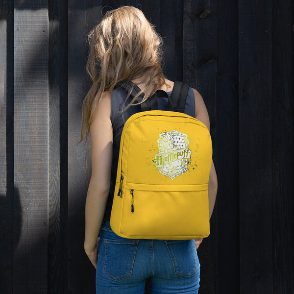 Backpack zaino Harry Potter Hufflepoof tassorosso
