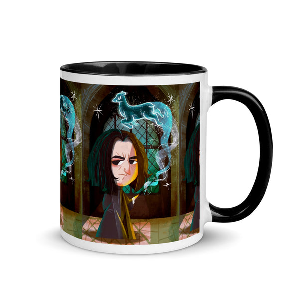 Mug with Color Inside  Harry Potter Piton Always