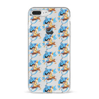 Aladdin and Jasmine cartoon Adorable Colored Drawing Phone Case