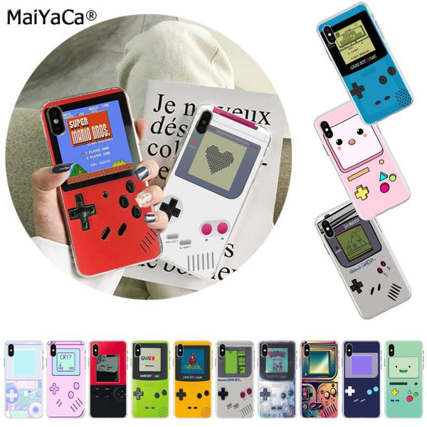 MaiYaCa Retro Game Art Print Gameboy Shell Phone Cover