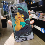 Aladdin Jasmine Princess soft silicone Phone Case