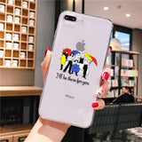 Babaite Friends tv Smart Cover Transparent Soft Shell Phone Case