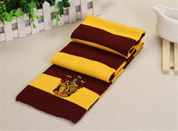 Cosplay Scarf Gryffindor Slytherin Hufflepuff Ravenclaw potter Scarf Scarves Costumes Gift Wholesale