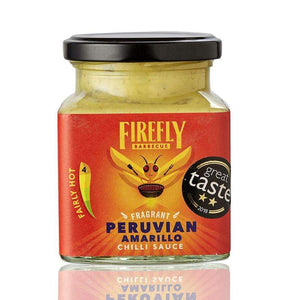 Peruvian Aji Amarillo Chilli Sauce  Great Taste 2018 2 Gold Star winner.