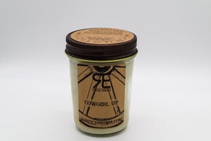Cowgirl Up 8 oz Candle