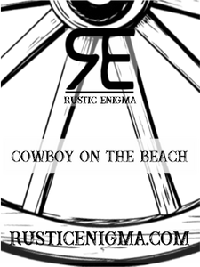 Cowboy on the Beach 16 oz Wood Wicked Candles - 2 Weeks Processing Time