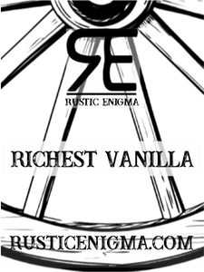 Richest Vanilla 16 oz Wood Wicked Candles - 2 Weeks Processing Time