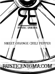 Sweet Orange Chili Pepper 16 oz Wood Wicked Candles - 2 Weeks Processing Time