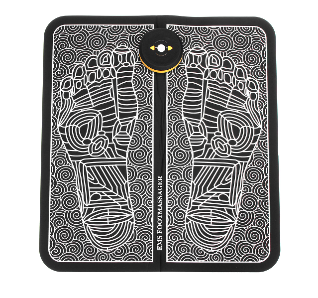 Rechargeable Physiotherapy & Acupressure Points Foot Massager Mat
