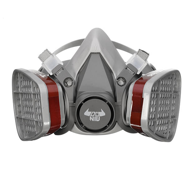 DANIU 6200 N95 Double Filter Chemical Half Face Respirator