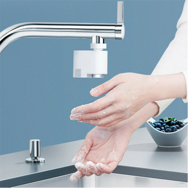 AutoSense Touchless Smart Faucet Adapter With Infrared Technology for Kitchen & Bathroom