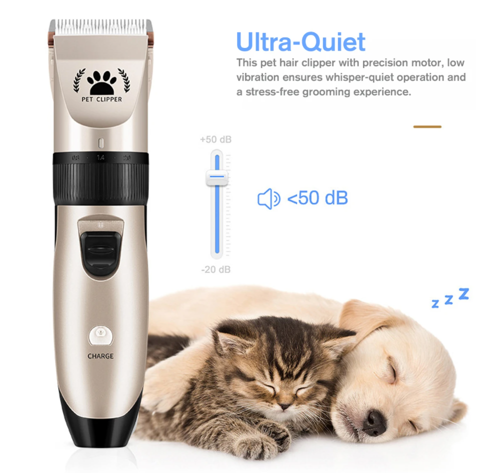 USB Rechargeable Pet Hair Clipper