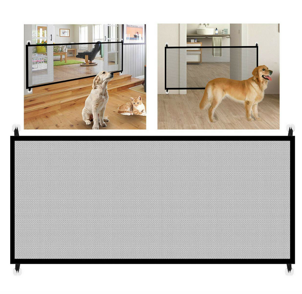Portable Pets Enclosure Safety Guard Fence