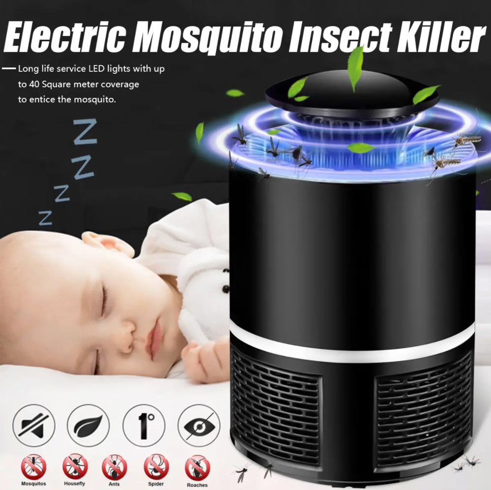MOZQUITRAP™ Portable USB Electric LED Mosquito Killer Lamp