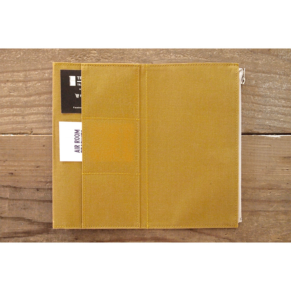 TF Paper Cloth Zipper Case Mustard