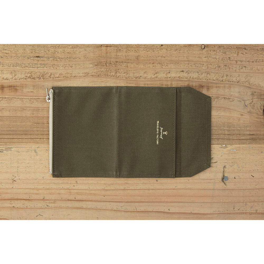 TF Paper Cloth Zipper Case PP size Olive
