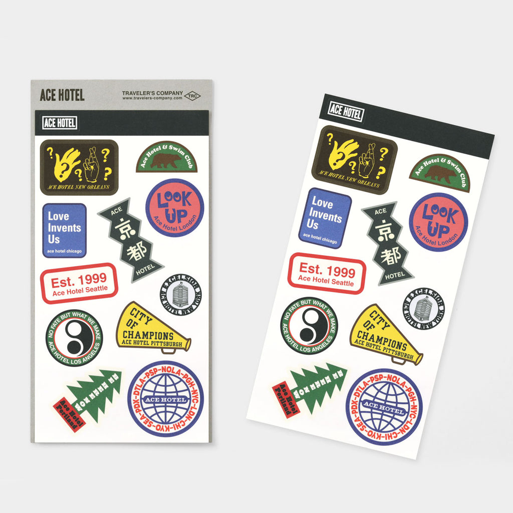 TF Sticker Set ACE HOTEL 2020