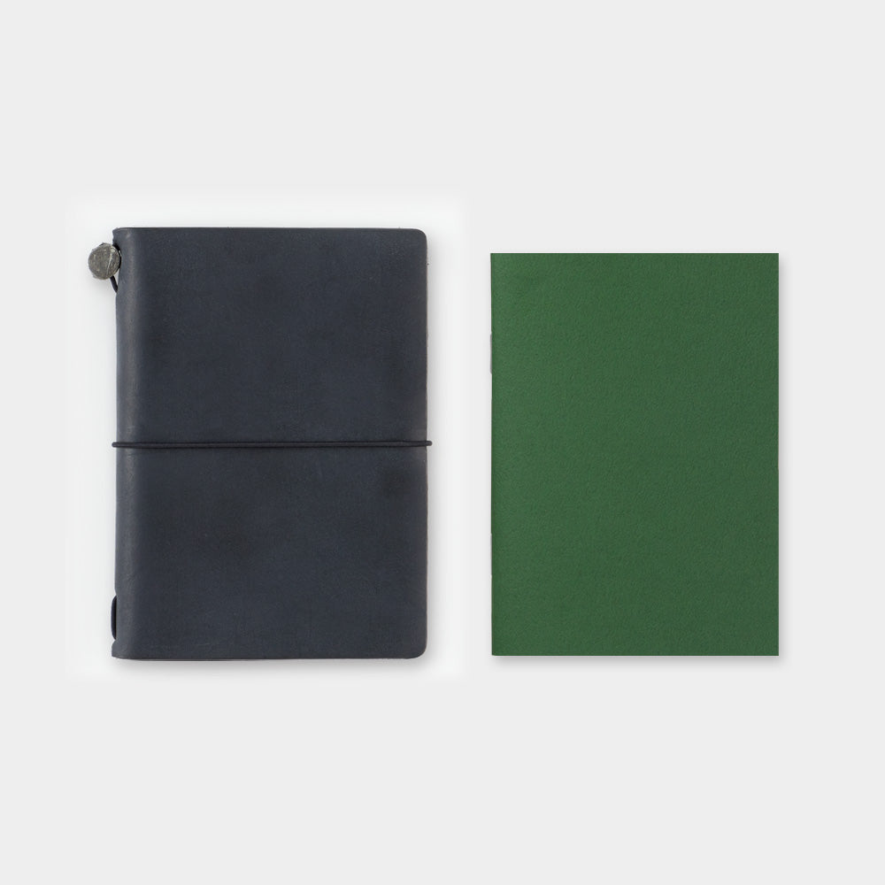 002 Grid Notebook (Passport Size)