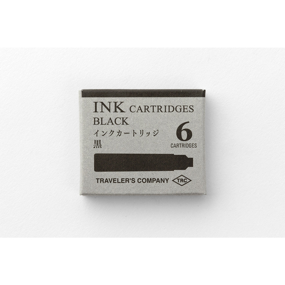 FOUNTAIN / ROLLERBALL PEN Ink Cartridges (Black)