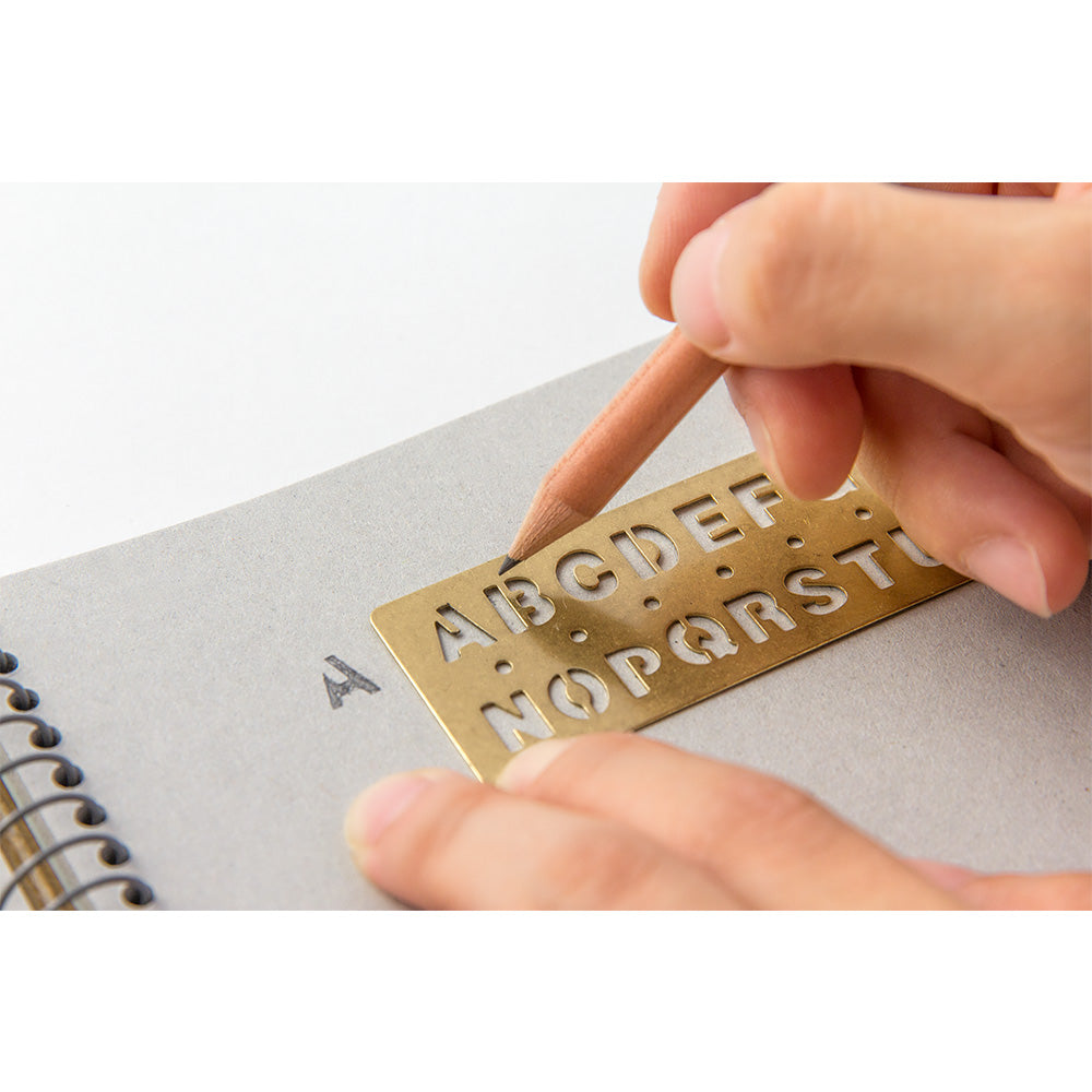 TEMPLATE BOOKMARK Alphabet