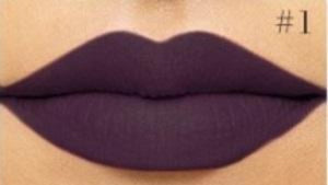 Matte Lipstick #1 - VERY BERRY