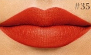 Matte Lipstick #35 - DRIPPING RED