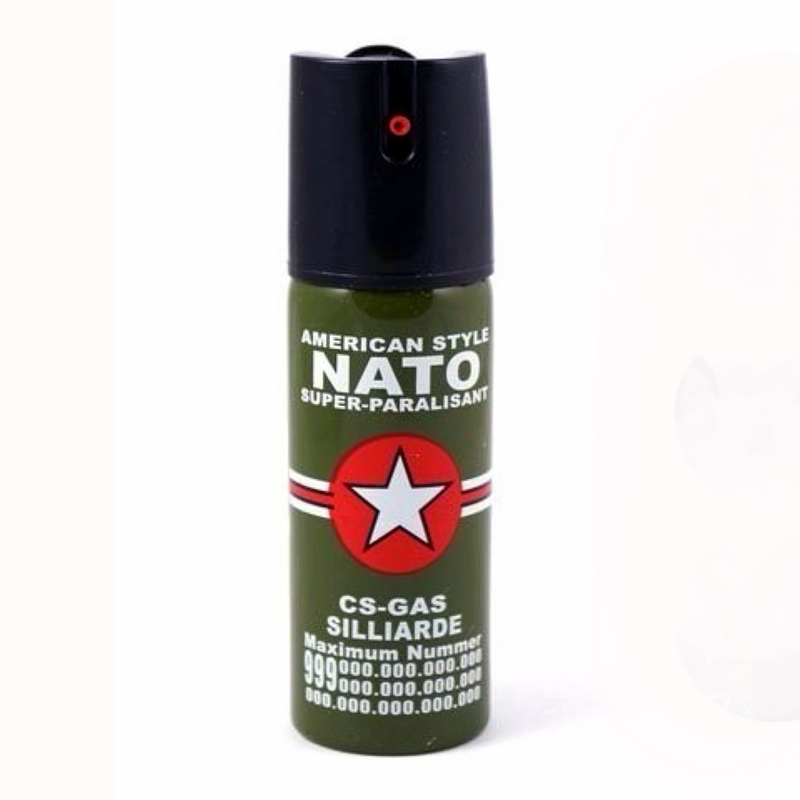 Spray Gas Pimienta NATO Defensa Personal