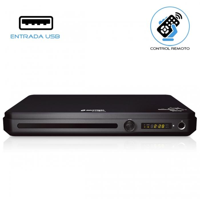 Reproductor Maxtron MX1807 DVD