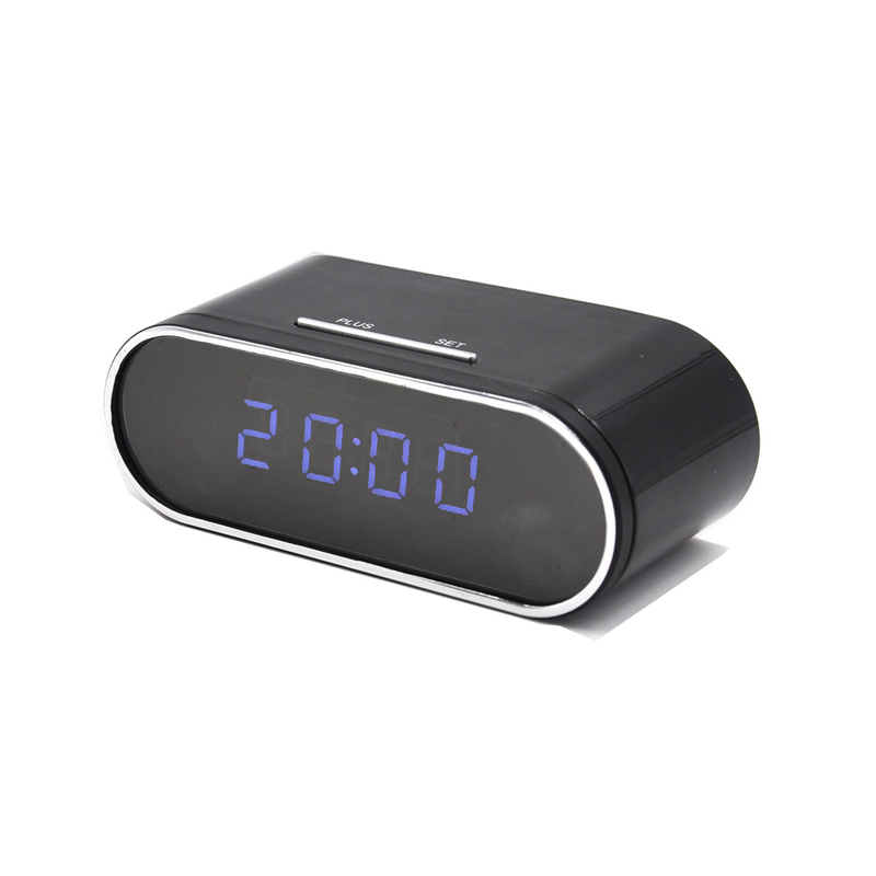 Cámara Reloj de escritorio WiFi Full HD