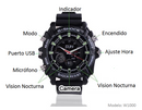 Camara Reloj W1000 Full HD - Memoria Interna 16 Gb