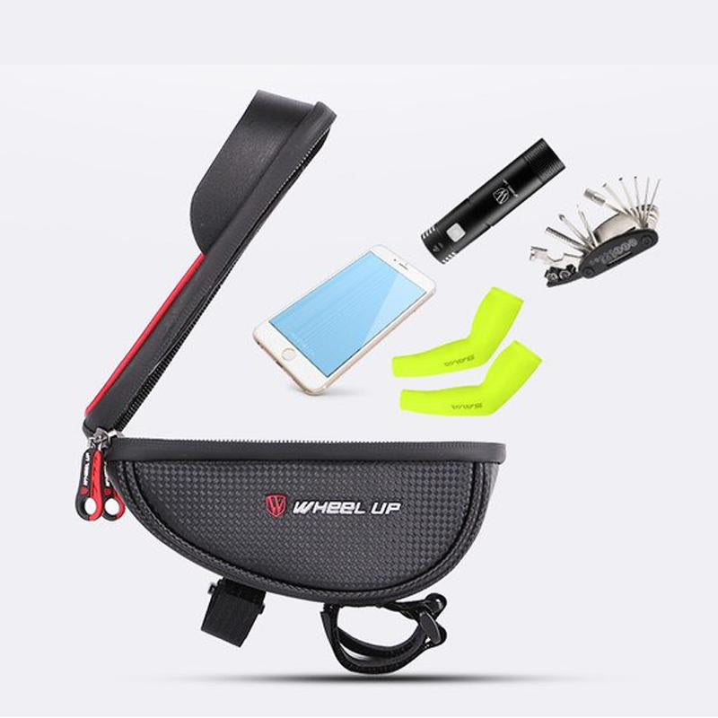 Holder Con Bolso Wheel Up Para Bicicleta  Impermeable