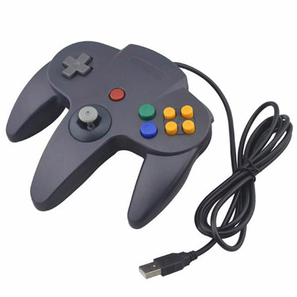 Mando de Nintendo 64 USB para PC - Compatible con Windows