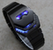 Reloj Led Metalico Iron Man Mark II
