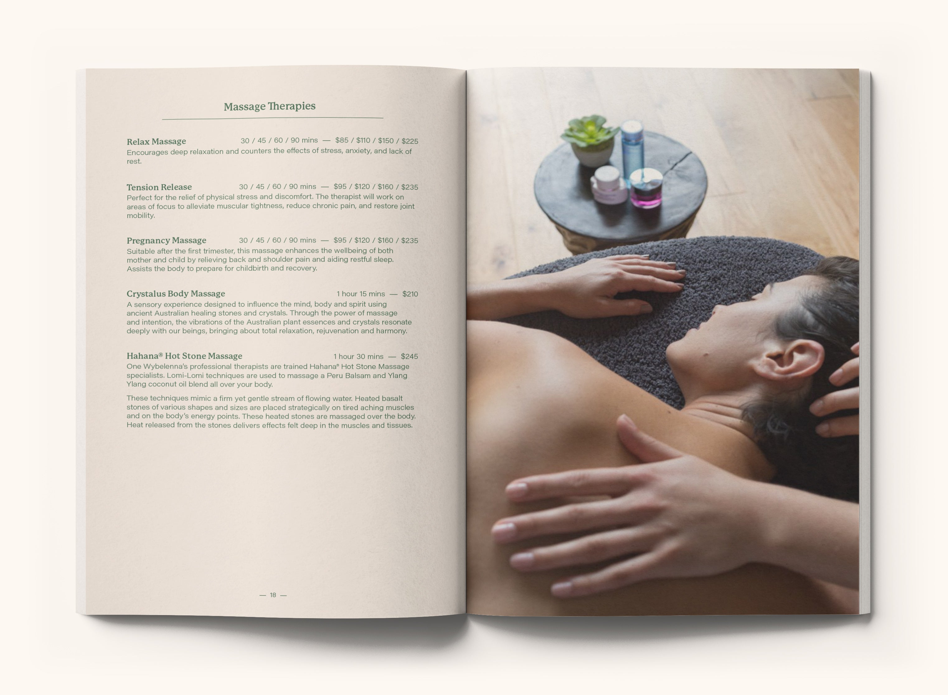 Click here to download our full Treatment Menu