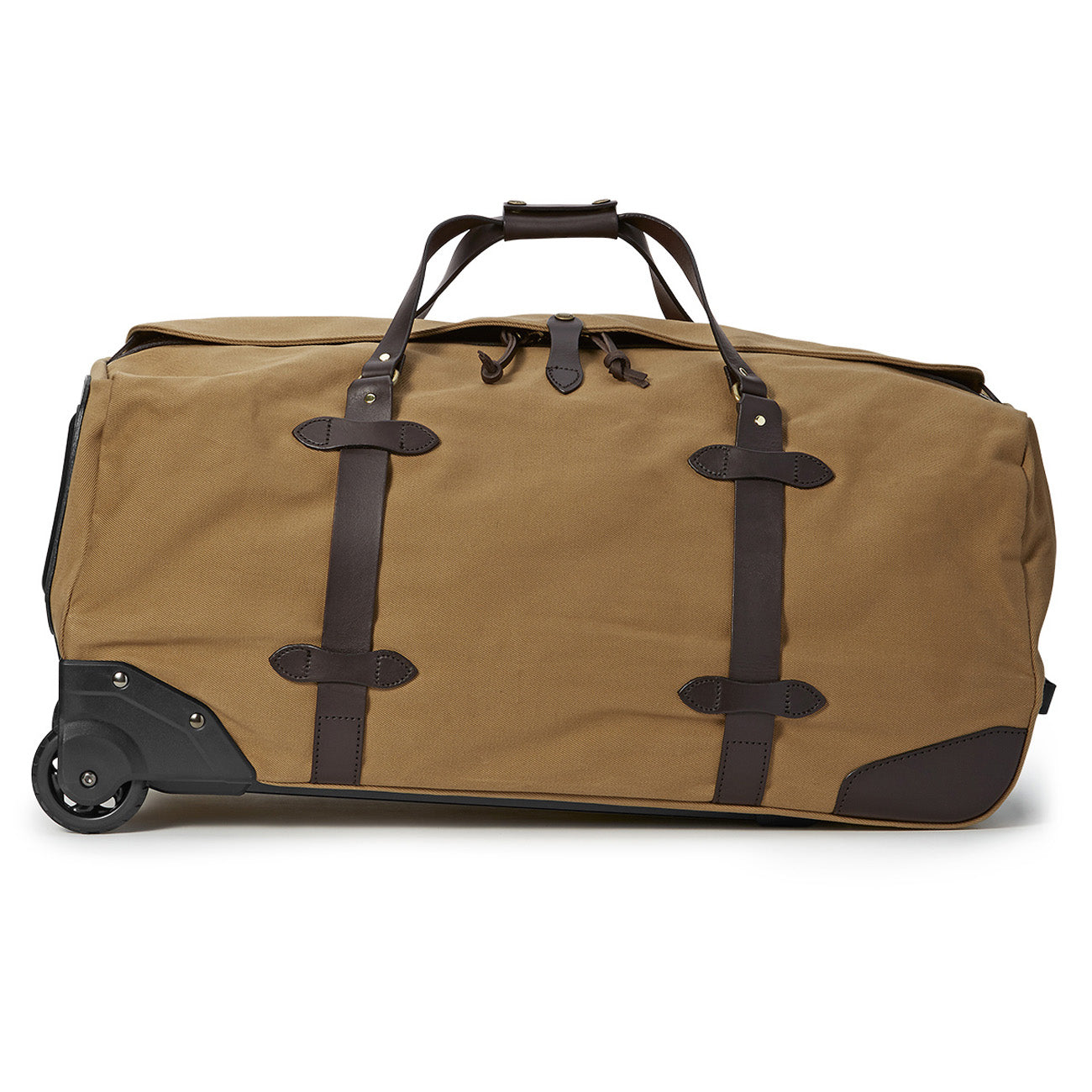 Filson Large Rugged Twill Rolling Duffle Bag Tan