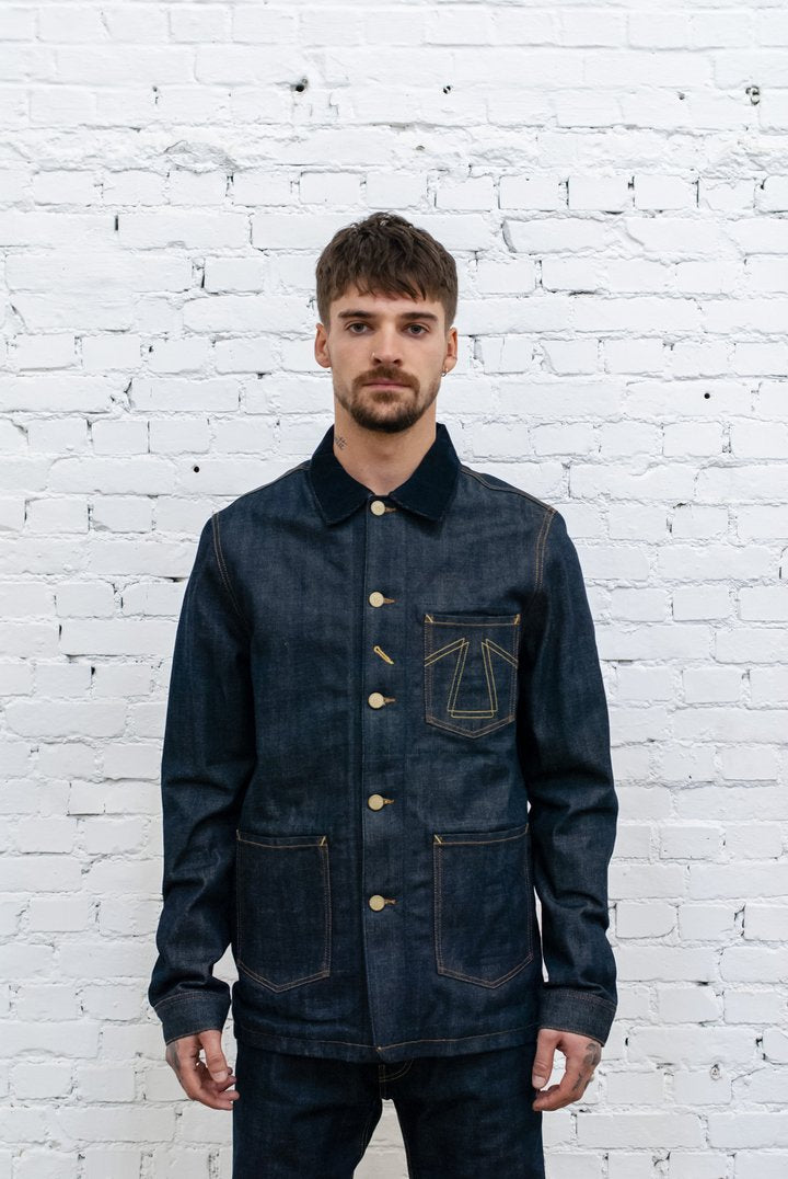 Eat Dust Chore Jacket 673 Selvedge Denim