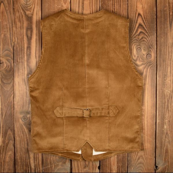 Pike Brothers 1905 Hauler Vest Goliath Cord Mustard