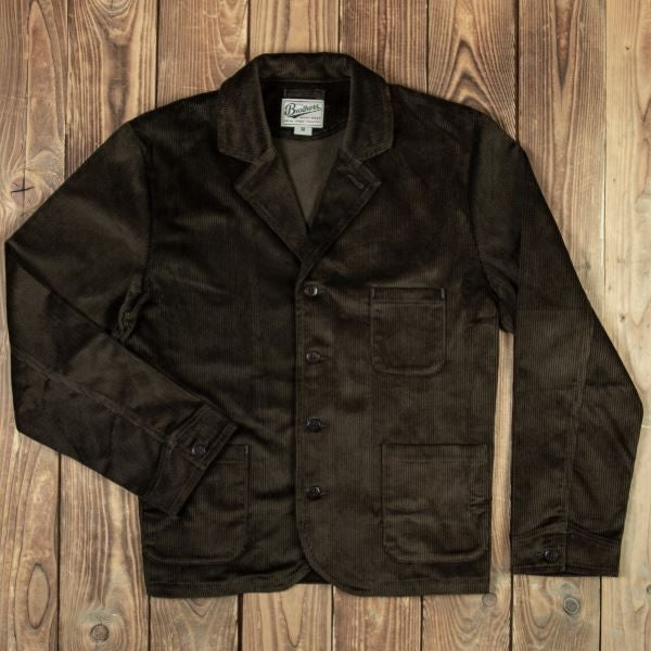 Pike Brothers 1905 Hauler Jacket Goliath Cord Olive